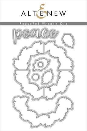 Peaceful Wreath Die Set