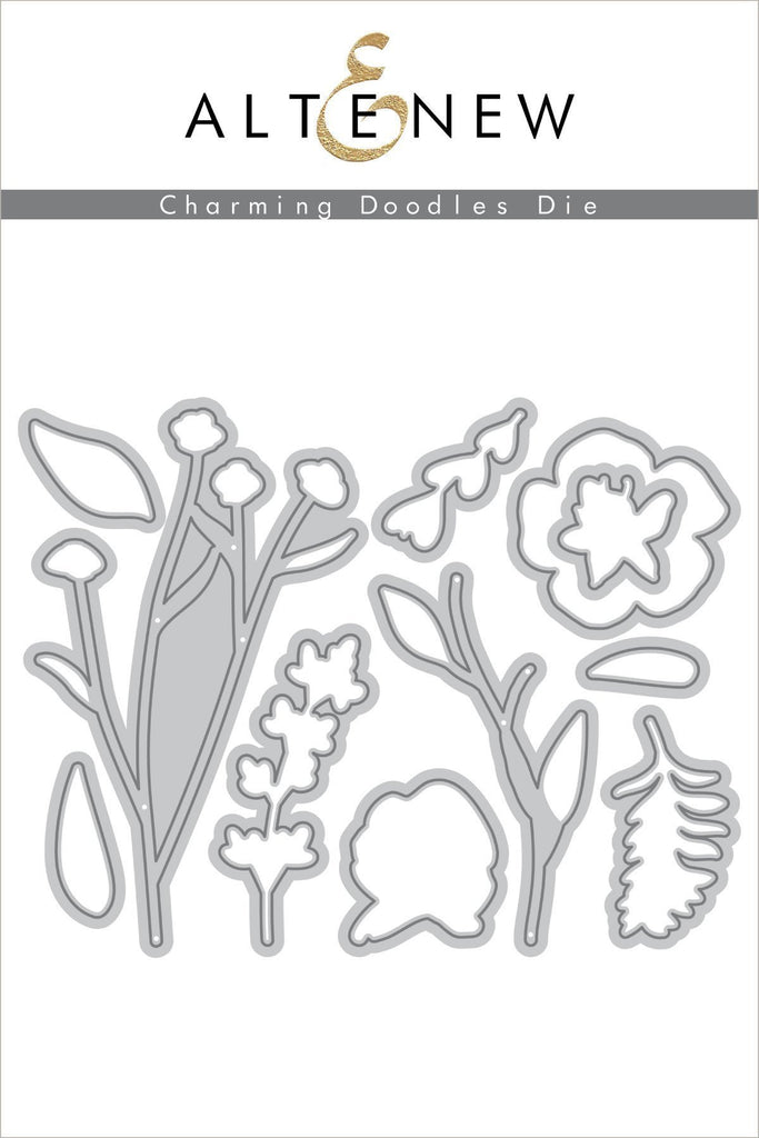 Charming Doodles Die Set
