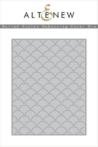 Dotted Scales Debossing Cover Die