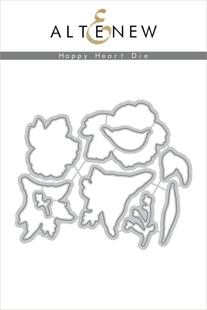 Happy Heart Die Set