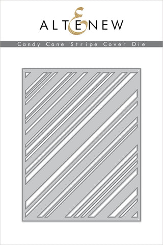 Candy Cane Stripe Cover Die