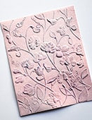 Blooming Sweet Pea 3D Embossing Folder
