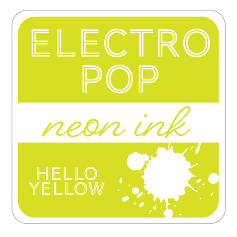 ElectroPop Ink Pad Hello Yellow