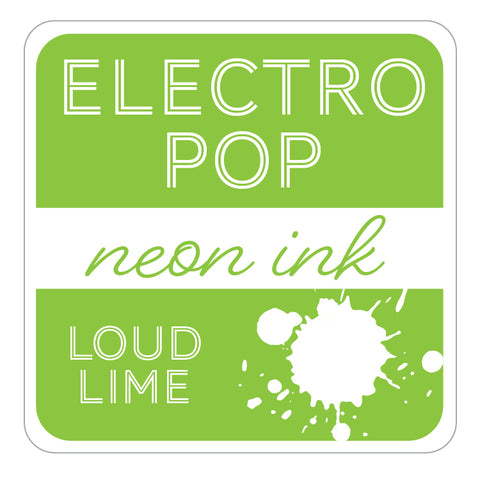 ElectroPop Ink Pad Loud Lime