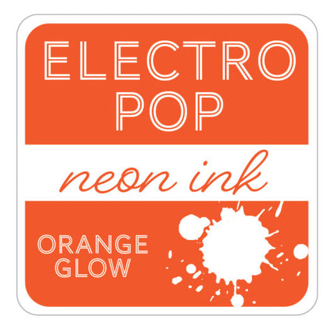 ElectroPop Ink Pad Orange Glow