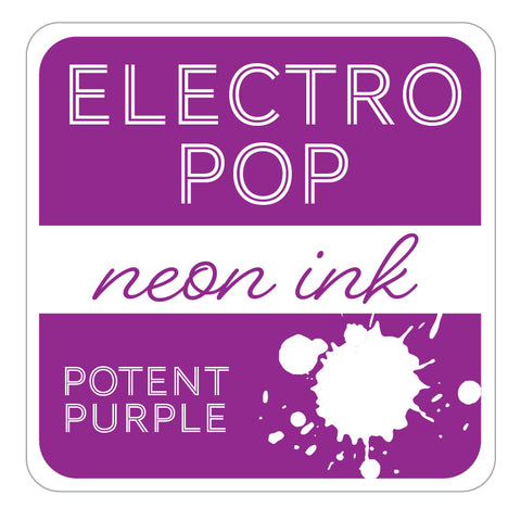 ElectroPop Ink Pad Potent Purple