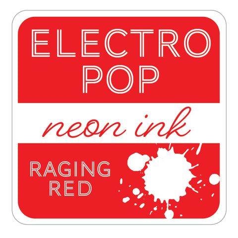 ElectroPop Ink Pad Raging Red