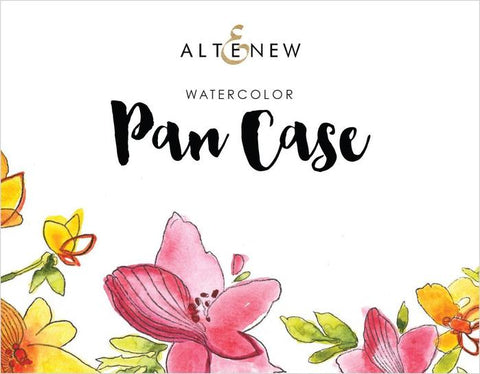 Watercolor Pan Empty Case