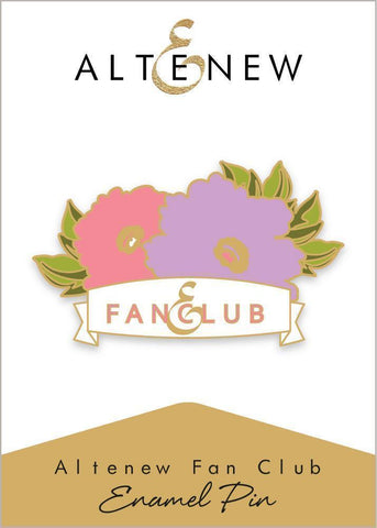 Altenew Fan Club Enamel Pin