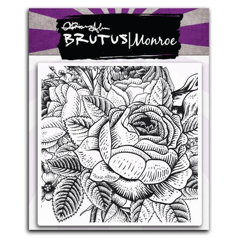 Enchanted Rose Background Stamp