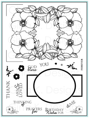 Fabulous Rose Frames Stamp Set