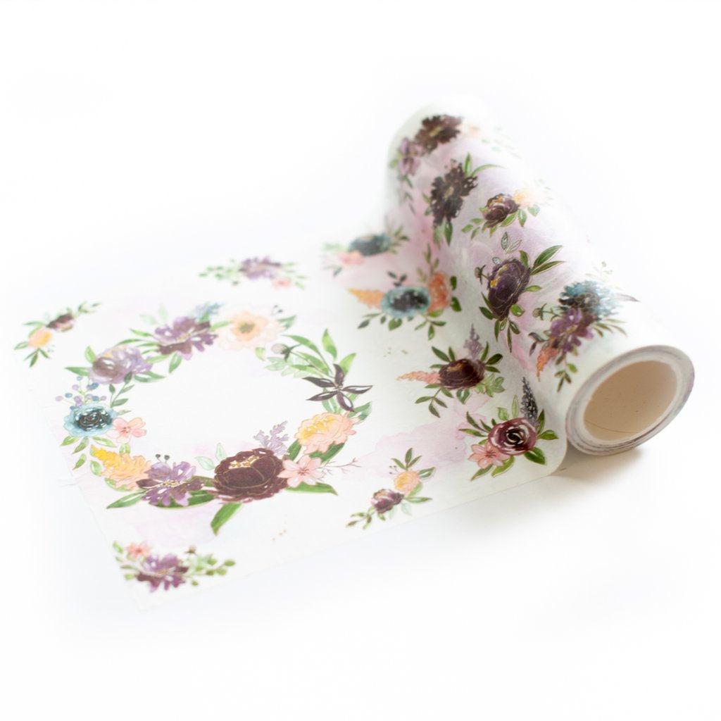 Painted Florals Washi Tape