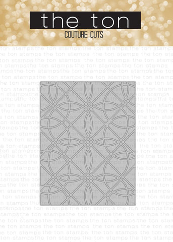 Geometric Circles Coverplate Die