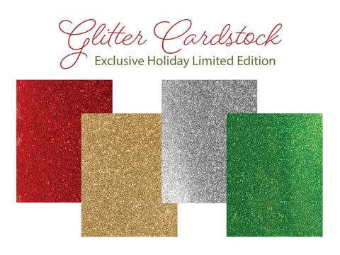 Glitter Card Stock Assortment