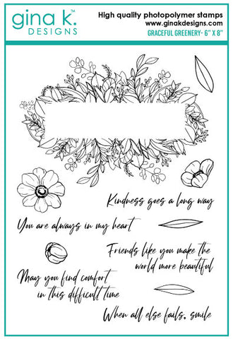 Clear Stamps - Graceful Greenery