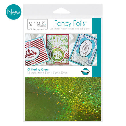 GKD Fancy Foils - Glittering Green