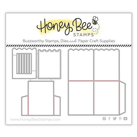 A2 Surprise Box Card Base Honey Cuts