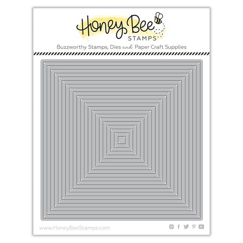 Square Thin Frame Honey Cuts