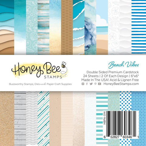 Beach Vibes 6x6 24 Double Sided Paper Pad