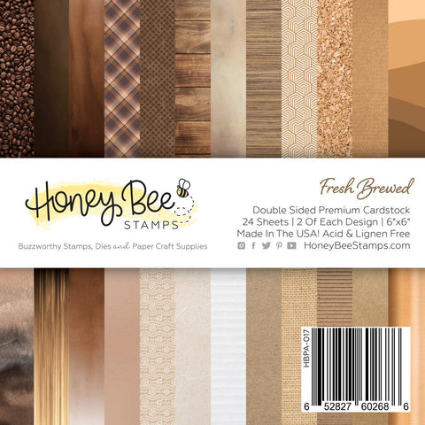 Fresh Brewed Paper Pad 6x6 | 24 Double Sided Sheets