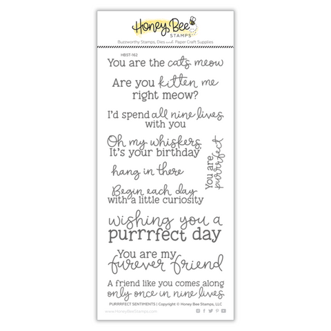 Purrrfect Sentiments Stamp Set