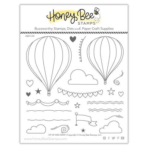 Up, Up and Away 6x6 Stamp Set