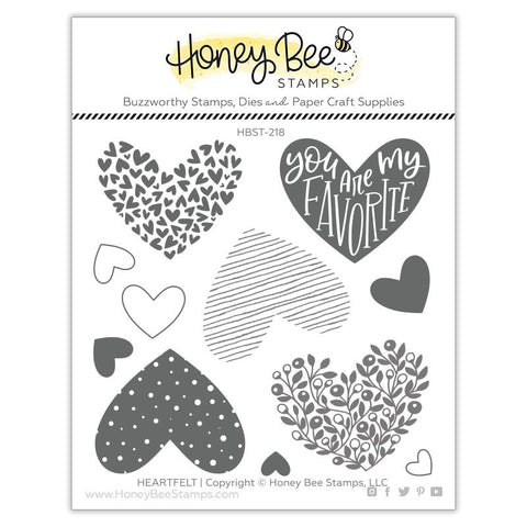 Heartfelt 4x4 Stamp Set