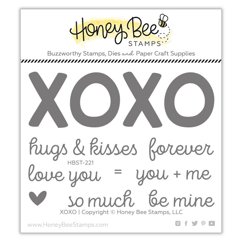 XOXO 3x4 Stamp Set