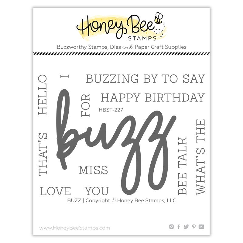 Buzz Stamp Set