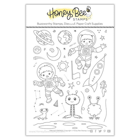 Far Out Friends Stamp Set