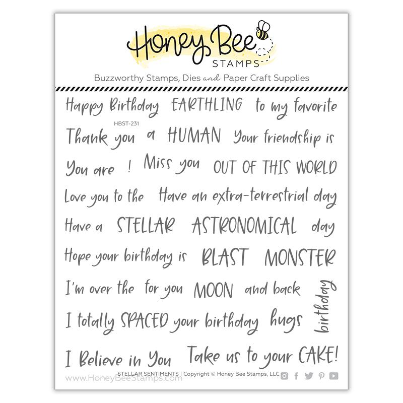 Stellar Sentiments Stamp Set