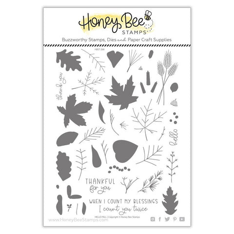 Hello Fall| 6x8 Stamp Set