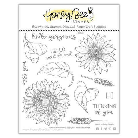 Sweet Sunflowers | 6x6 Stamp Set