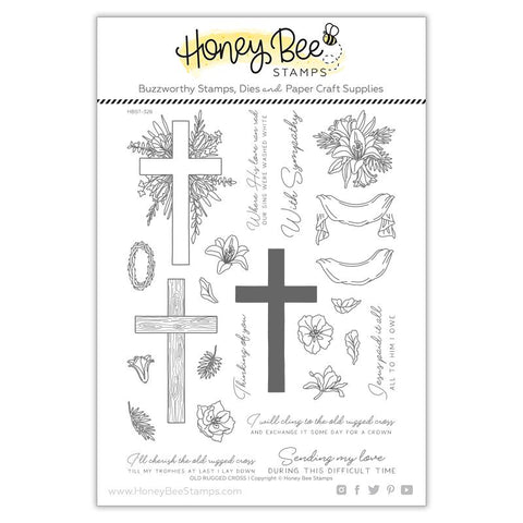 Old Rugged Cross | 6x8 Stamp Set