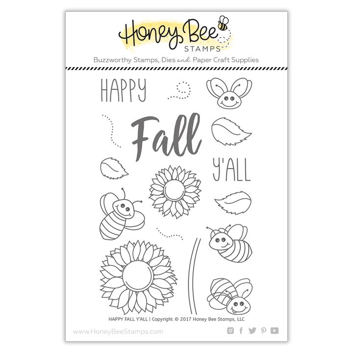 Happy Fall Y'all Stamp Set