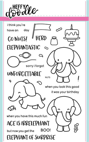 Elephant of Surprise Stamps