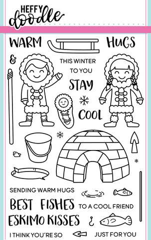 Warm Hugs Stamps