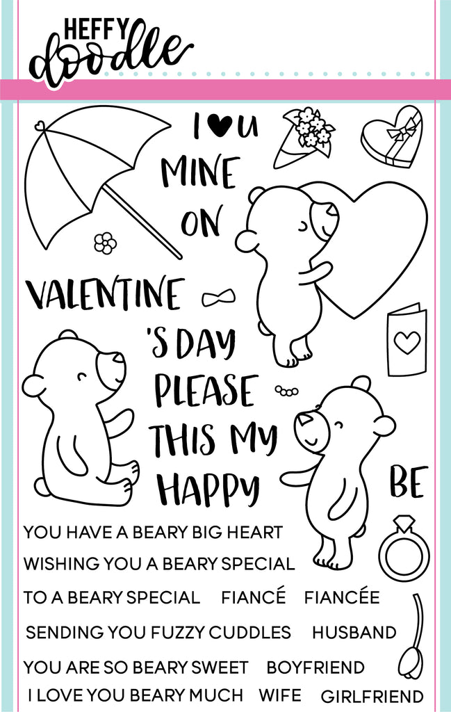 Beary Big Heart Stamps