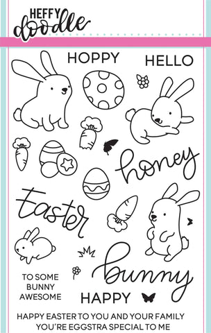 Honey Bunny Boo Stamps