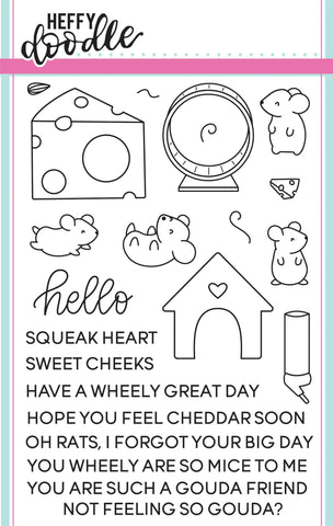 Hello Squeakheart Stamps