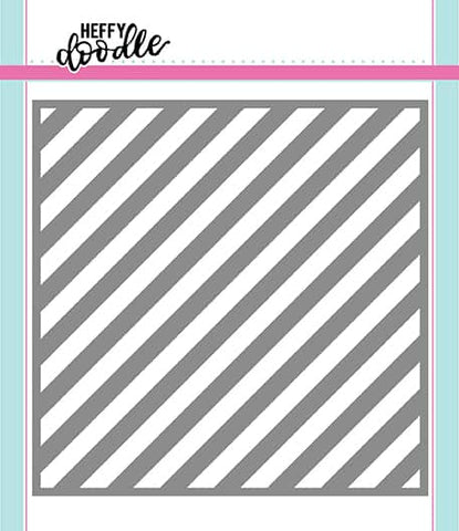 Candy Store (Thin Diagonal Stripes) Stencil
