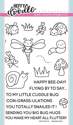 Big Bug Hugs Stamp Set