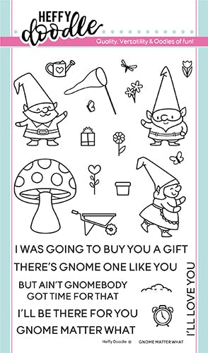 Gnome Matter What Stamps