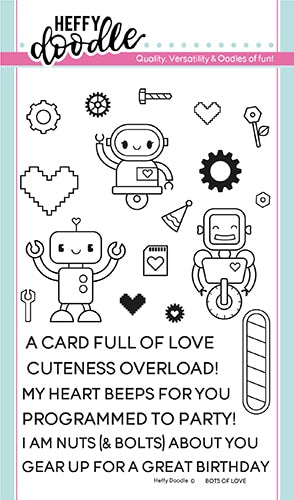 Bots of Love Stamps