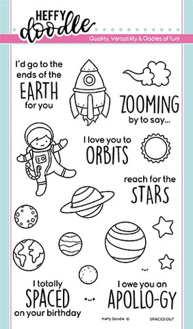Spaced Out Stamps