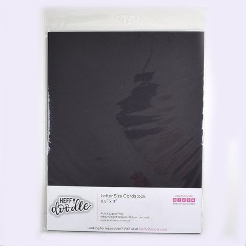 "Oreo Crunch 8.5"" x 11"" coloured cardstock (10 sheets)"