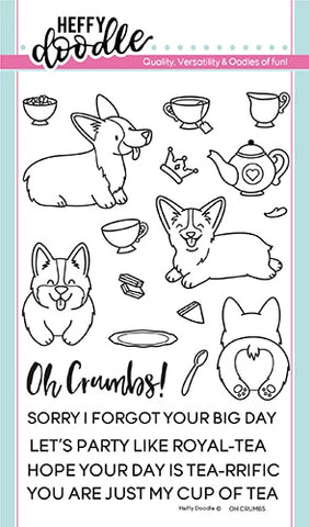 Oh Crumbs Stamps