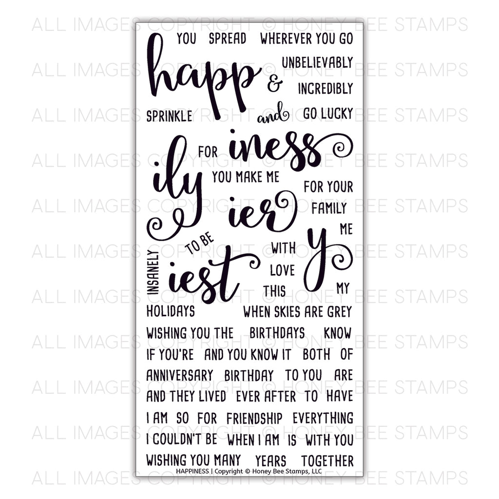 Happiness Stamp Set