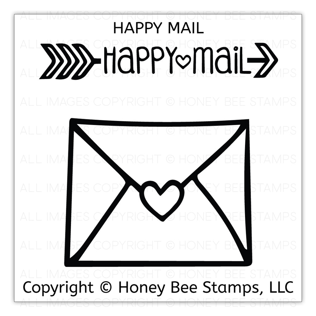 Happy Mail Stamp Set