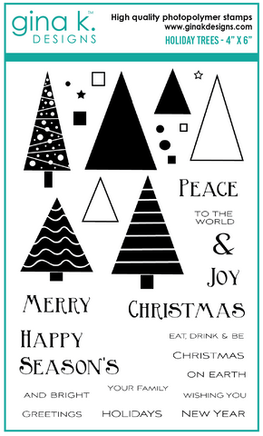 Holiday Trees Stamp Set